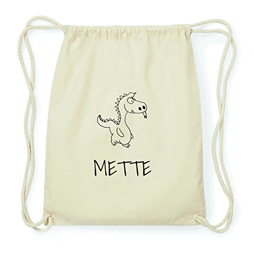 JOllipets METTE Hipster Turnbeutel Tasche Rucksack aus Baumwolle Design: Drache