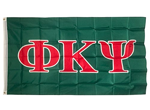 Desert Cactus Phi Kappa Psi Letter Fraternity Flag Greek Letter Use as a Banner Large 3 x 5 Feet Sign ()