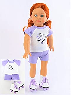 31a56dff92b466 Amazon.com  Light Blue Kroc Duc Shoes Fits Bitty Baby Doll by ...