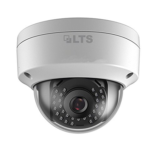 5+ 2.8mm Wide Angle Lens 100ft IR Vandal Dome IP Camera (320 16 Channel Dvr)