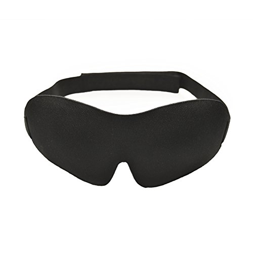 Lite Cloth Strap (Living Pure - Luxury Sleep Mask | Light Blocking Eye Mask for Sleeping Deeper | Features Memory Foam, Contoured Design & Adjustable Strap | Insomnia Aid)