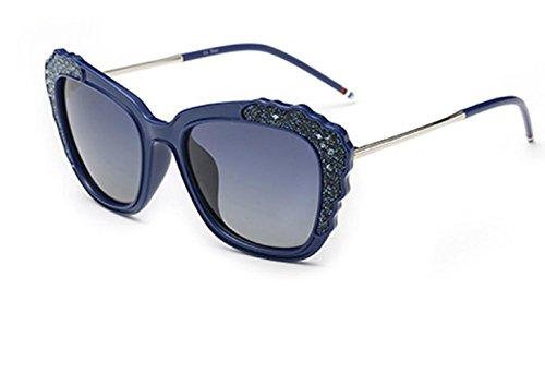 Shopping Gafas Sunglasses MSNHMU Sol Beach De De Blue Fashion Mujer Party SHnFUqTn8