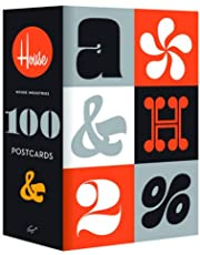 House Industries: 100 Postcards (Font and Typography Postcard Set, Graphic Design Inspiration)
