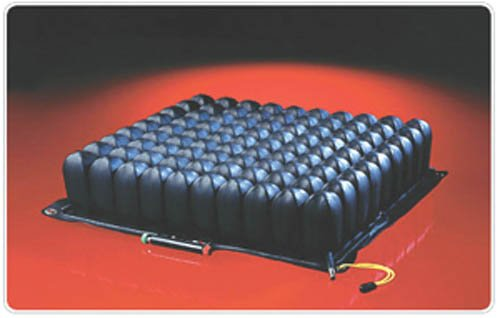 ROHO Low Profile QUADTRO SELECT Seating and Positioning Wheelchair Seat Cushion BUTTON: QS109LPC 18-19 X 16-17