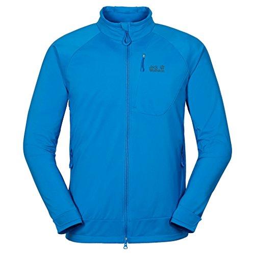 Storm Shell Jacket - Jack Wolfskin Men's Storm Breeze Softshell Jacket, Brilliant Blue, X-Large