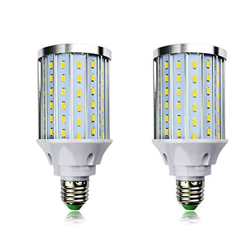 MD Lighting 30W E27 LED Corn Light Bulbs(2 Pack)- 108 LEDs 5730 SMD 2700 Lumen COB Light Lamp Ultra Bright Warm White 3000K LED Bulb 240 Watt Equivalent for Backyard - Corn Ultra