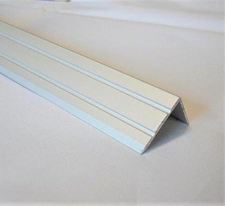 100cm aluminio, anodizado, 30//1000 mm Plata color plateado K/ügele 503 S 100 Perfil plano hueco