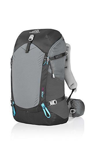 (Gregory Mountain Products Jade 28 Liter Women's Backpack, Dark Charcoal, Small)