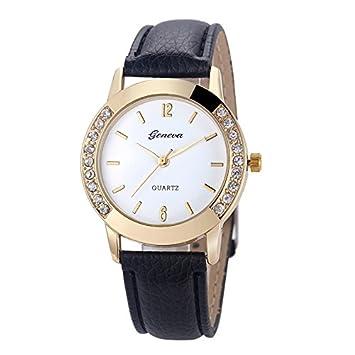 3846fe1f51dd1 Amazon.com: Geneva Fashion Women Wrist Watch,Outsta Diamond Analog ...