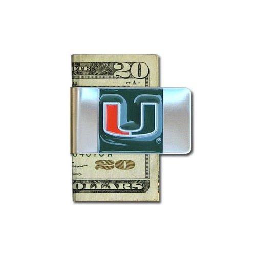 NCAA Miami University Money - Pewter Clip Money Ncaa