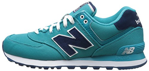 turquoise Femme Springs Springs Sneakers New Balance Basses Palm Bleu 574 0Itwxz6