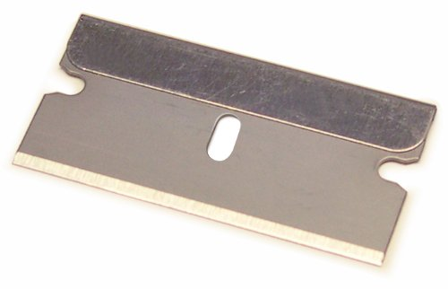 Titan Tools 11036 #9 Single Edge Razor Blade - 100 Piece (Titan Single)
