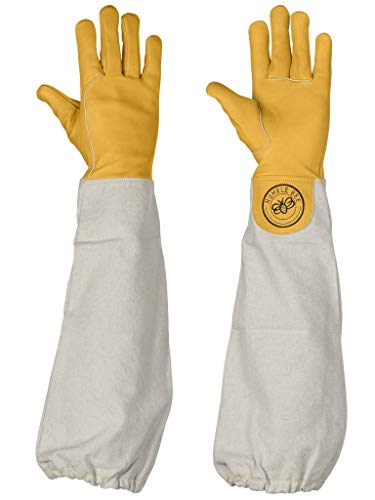 Humble Bee 111-XXS Cow Leather Beekeeping Gloves (XX Small) ()
