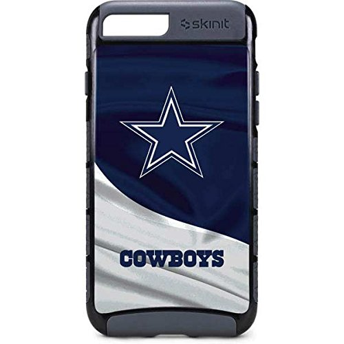Skinit Dallas Cowboys iPhone 8 Plus Cargo Case - Officially Licensed NFL Phone Case - Durable Double Layer iPhone 8 Plus Cover