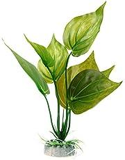 Broadroot Artificial Grass Weed Plant Aquarium Ornament Fish Tank Decor(S)