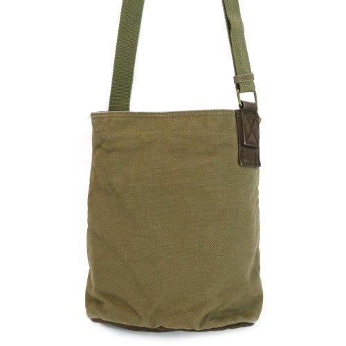 Chala LaZzy Cat Patch Canvas Cotton Messenger Bags with 6 Color Options (Olive) by CHALA (Image #7)