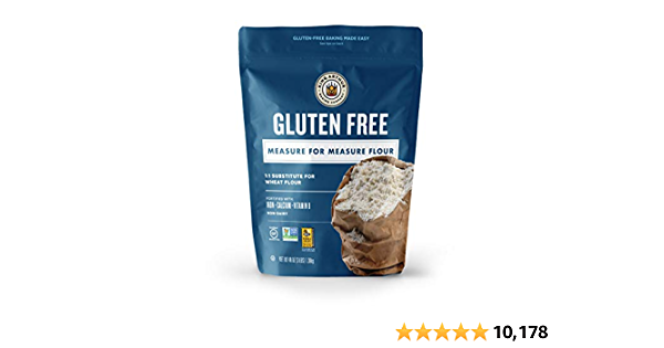 King Arthur, Measure for Measure Flour, Certified Gluten-Free, Non-GMO Project Verified, Certified Kosher, 3 Pounds