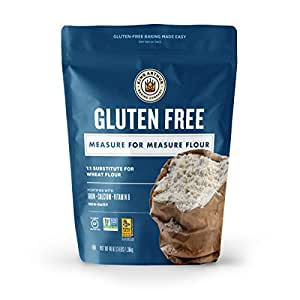King Arthur Flour, Measure for Measure Flour, Gluten Free, 3 Pounds (Pack of 1) - Packaging May Vary