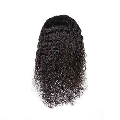 Weiweidian Brazilian Less Lace Front Full Wig Bob Wave Black Natural Looking Women + -