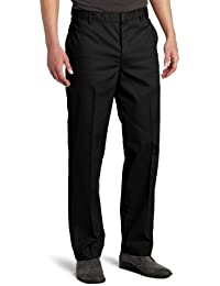 Men's Flat-Front Pant Stain & Wrinkle Resistant Cotton/Poly