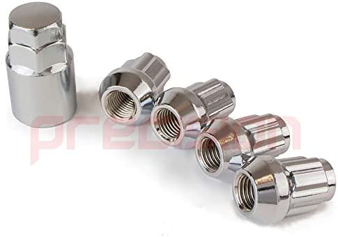 16 x Chrome Alloy Wheel Nuts and 4 x Locking Nuts for Ĥonda Stream with Aftermarket Alloy Wheels PN.SFP-16NM10+N10158