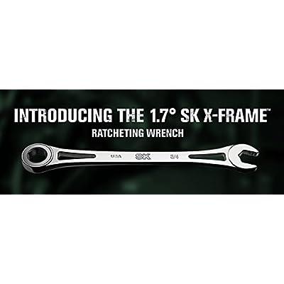 6PT X-frame Fractional Combination Wrench Set 7 pcs