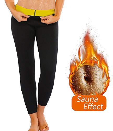 Women Hot Thermo Slimming Sweat Sauna Pants Neoprene Yoga Legging Shaper for Weight Loss