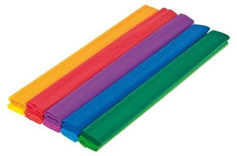 Rotoli Di Carta Colorata : Rotoli di carta crespa colorata cm amazon
