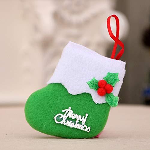 GzxtLTX-Socks,Christmas Decorations New Year Gifts Santa Snowman Socks Christmas Socks Gift (Green) by GzxtLTX-Socks (Image #1)