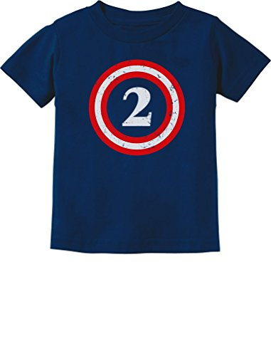 Captain 2nd Birthday Toddler T Shirt