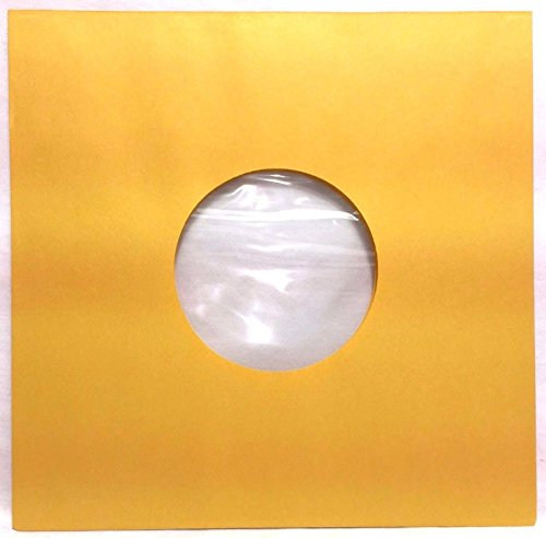 100 Pack - 78rpm Record Sleeves Golden Brown Polylined Paper Acid-Free 78 RPM Phonograph Vinyl Record Album Inner 10-inch (10in.) Victrola 78s Collector-Style Inners