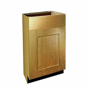 "Shaker Panel Door Style Vanity Base with 1 Drawer 18"" Wide ..."