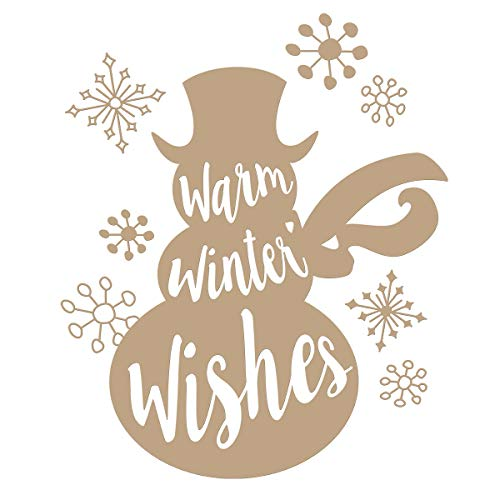 (Spellbinders GLP-045 Warm Winter Wishes Holiday Glimmer Hot Foil Plate Metal)