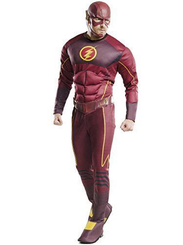 Rubie's Men's Flash Deluxe Costume, Multi, X-Large]()