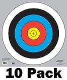 60 cm / 24 in Bullseye Archery and Gun Targets by Longbow Targets (pk of 10)