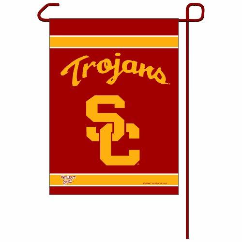 NCAA USC Trojans Garden Flag - Southern California Trojans Flag