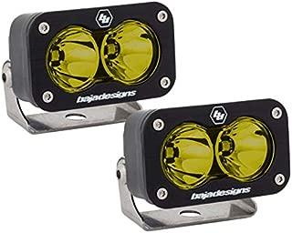 product image for Baja Designs UTV S2 Sport Pair Work Scene LED Lights Amber