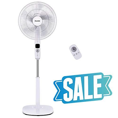 PELONIS Oscillating Pedestal, Turbo Silence Stand Fan 16