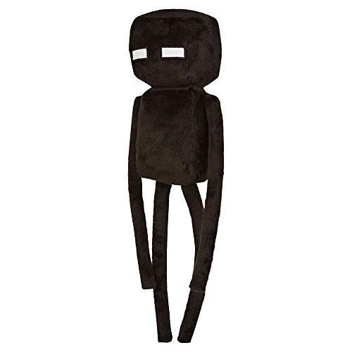 JINX Minecraft Enderman Plush Stuffed Toy (Black, 17