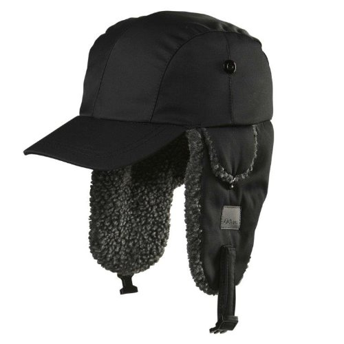 Chaos-CTR Linux Trapper Hat with Brim, Black, One Size 13G3-2680