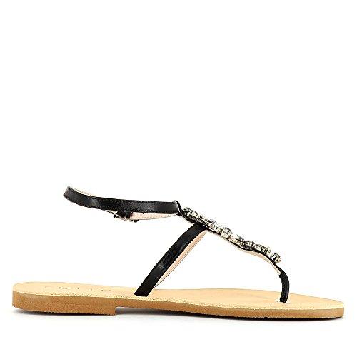 Nero Donna Greta Evita Sandali Shoes 7nZtUIF