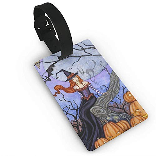 Luggage Tags Holders for Travel Luggage,Luggage Tags for Suitcases, Luggage Tag The Halloween Tree Luggage Tag Suitcase Suitcase Label Bag Travel ()