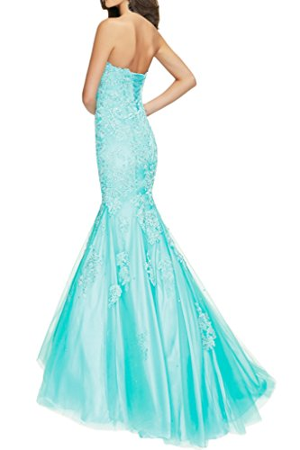 up Dress Sweetheart Avril Beading Evening Long Appliques Mermaid Lace Dress Sage Prom z4IffqT