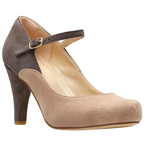 CLARKS - Womens Dalia Lily Shoe, Size: 6 B(M) US, Color: Nude Combi