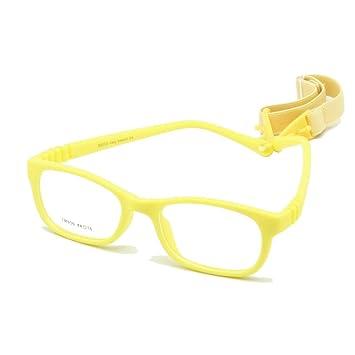 9455d9bbd28c EnzoDate Flexible Kids Eyeglasses Frame Size 44/16 TR90 Children Glasses,  No Screw,