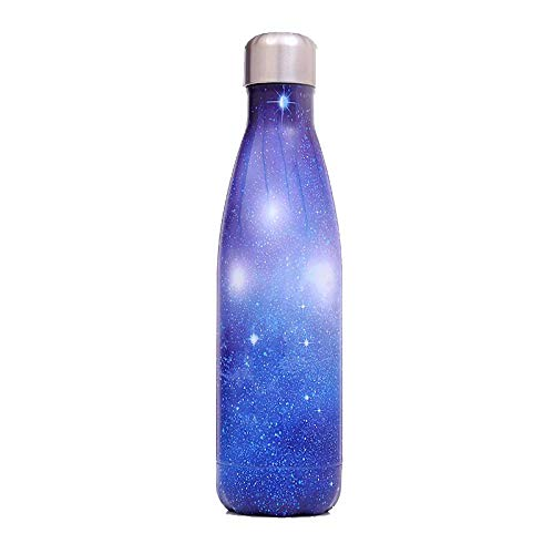 Cleaning brush Non-Toxic BPA Free Stainless Steel Water Bottle KIMX Chilly Water Bottle 500ml,Double Walled Vacuum Insulated Leak