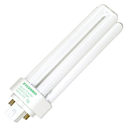 (25 Pack) Sylvania 20890 CF42DT/E/IN/841/ECO 42-Watt 4100K 4-Pin Triple Tube Compact Fluorescent Lamp by Sylvania (Image #1)