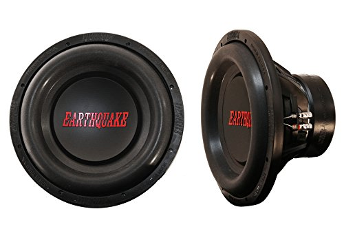 Earthquake Sound DBXi-12D 12-inch Subwoofer with Dual 4-ohm Voice Coil, 1500 ()