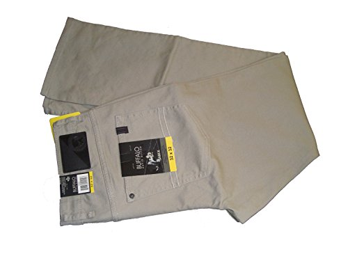 Wholesale Fashion Jeans (Buffalo David Bitton Mens Sam-X Slim Straight Stretch Jeans (32X32, Khaki))
