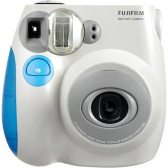 fujifilm instax Mini 7s Light Pink + 10 Exposures Instant Film Camera (New)